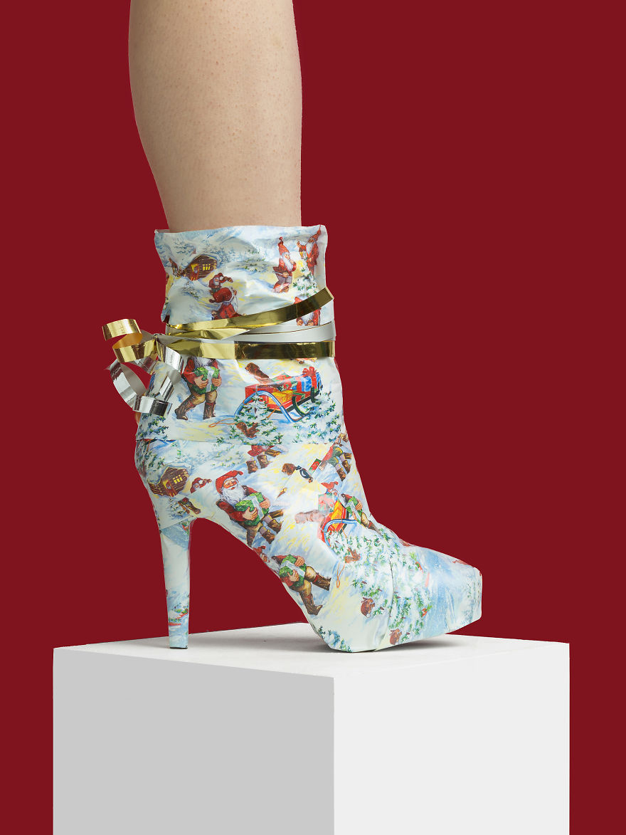 #3 The Christmas Edition Gift Boot Creative shoes