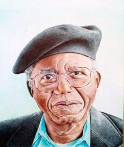 Ajayi Clement Ademola colored pen Art